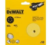 DeWalt, DT3122, Шлифкруги для эксцентриковых шлифмашин быстрозаменяемый на бумажной основе, 150 мм,