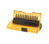 DeWalt, DT7916, Набор насадок для шуруповертов EXTREME Extra- Grip (11 шт): Pz1(3x), Ph1(3x), T10, T