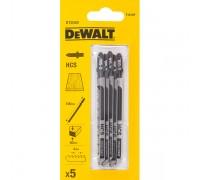 DeWalt, DT2049, Полотно для электролобзиков по дереву HCS. Чистый быстрый пропил. По древесине, ДСП,