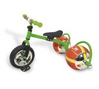 Велосипед с колесами в виде мячей «БАСКЕТБАЙК» зелёный DE 0051