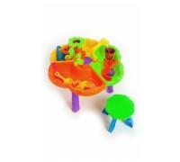 Стол игровой для песка и воды + стульчик «КРОХА» DE 0085