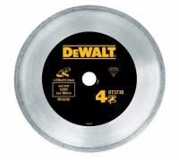 DeWalt, DT3738, Алмазный отрезной круг со сплошной кромкой по керамике для сухого резания для УШМ, 2