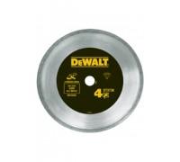 DeWalt, DT3736, Алмазный отрезной круг со сплошной кромкой по керамике для сухого резания для УШМ, 1