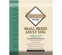Diamond Naturals Small Breed L&R Для взрослых собак мелких пород, Ягненок с рисом 8,16 кг
