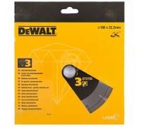 DeWalt, DT3762, Алмазный отрезной круг с лазерной сваркой сегментов по мрамору и граниту для сухого