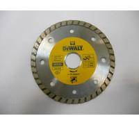 DeWalt, DT3712, Алмазный отрезной круг со сплошной кромкой Turbo универсальный для сухого резания дл