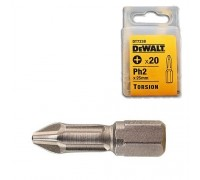 DeWalt, DT7238, Насадки Torsion  для шурупов со шлицем Philips, Ph2 x 25 мм, 20 шт.