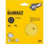 DeWalt, DT3131, Шлифкруги для эксцентриковых шлифмашин быстрозаменяемый на бумажной основе, 150 мм,