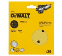 DeWalt, DT3135, Шлифкруги для эксцентриковых шлифмашин быстрозаменяемый на бумажной основе, 150 мм,