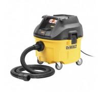 DeWalt, DWV900L, Промышленный пылесос для сухой и влажной уборки, емкость 26,5 л, 1250 Вт