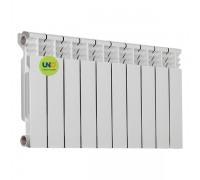 Биметаллический радиатор UNO-TWIN 350/80 (10 секц)