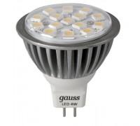 Лампа Gauss MR16 4W ПMD 4100K EB101005204-D