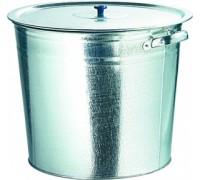Бак для воды оцинкованный с крышкой (крышка с ручкой) 32л 67549
