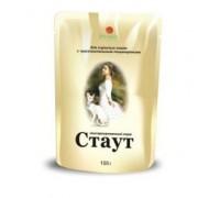 «СТАУТ» – ВЛАЖНЫЙ КОРМ  Консервы для взрослых кошек с чувствительным пищеварением, в соусе.