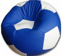 Мяч сине-белый