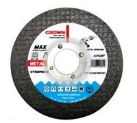 Диск отрезной по металлу Crown CTCDP0012 d180x22.2x1.6mm