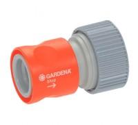 """Коннектор с автостопом «Профи» от 19 мм (3/4"""") к 13 мм (1/2"""") Gardena 02814-20"""