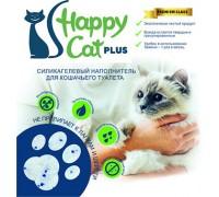 """Силикагелевый наполнитель """"Happy Cat plus"""" без запаха 44 л (20кг)"""