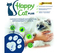 """Силикагелевый наполнитель """"Happy Cat plus"""" без запаха 22 л (10кг)"""