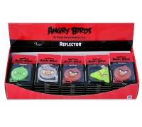 """Пешеходный светоотражатель """"Angry Birds"""", коробка 35 шт."""