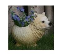 Горшок Медведь белый HA9009-6N1(1)  GS