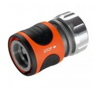 """Коннектор с автостопом Premium  13 мм (1/2""""), без упаковки в коробке Gardena 08168-50.000.00"""
