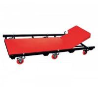 Лежак ремонтный на 6-ти колесах MATRIX 567455