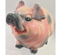 Гипсовая окрашенная фигура Свинья 263