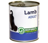 NP Dog Adult Lamb 800g canned food for dogs