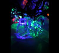 Гирлянда Космос Gir 30 LED Mix 3RGB