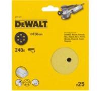 DeWalt, DT3117, Шлифкруги для эксцентриковых шлифмашин быстрозаменяемый на бумажной основе, 125 мм,