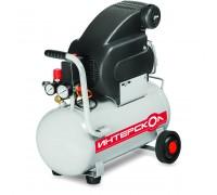 Компрессор маслянный коаксиальный КВ-200/25 Интерскол, мощ 1,5 кВт, раб. давление 8 бар, произ. по в