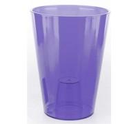 Кашпо Лилия 125х125мм, цвет фиолетовый  Польша