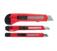Набор ножей,  выдвижные лезвия, 9-9-18 мм, 3 шт. MATRIX 78985