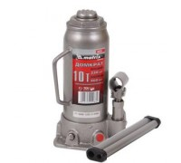 Домкрат гидравлический бутылочный, 10 т, h подъема 230–460 мм MATRIX  50725