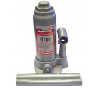 Домкрат гидравлический бутылочный, 4 т, h подъема 194–372 мм MATRIX  50754