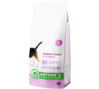 Natures Protection Medium Junior 7.5kg dog food