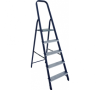 Ст. лестница-стремянка 10-х ступ Н=2,08/4,10м  (М8410) 30216086 Алюмет