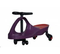 """Машинка детская, """"БИБИКАР"""" с полиуретановыми колесами, фиолетовая DE 0046"""