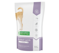 Natures Protection Adult Mini Lamb 500g dog food