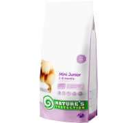 Natures Protection Mini Junior 2kg dog food