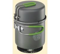 Набор посуды из анодированного алюминия в чехле Optimus Terra Solo Cookset 0.6 л) 000320