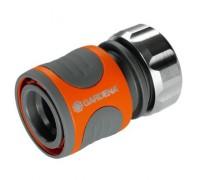 """Коннектор Premium  19 мм (3/4"""") и 16 мм (5/8""""), в упаковке Gardena 18256-20"""
