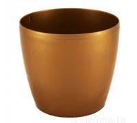 Горшок Магнолия 360мм, цвет золотой