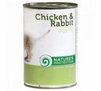 NP Puppy chicken & rabbit 800g dog food