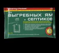 Доктор Робик 109 Средство для выгребных ям и септиков (порошок) 75 г.