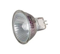 Лампа галогенная СВЕТОЗАР с защитным стеклом, цоколь GU5.3, диаметр 51мм, 50Вт, 12В