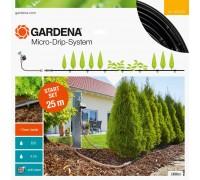 Комплект базовый для наземной прокладки, шланг  сочащийся 13 мм х 25 м с фитингами и мастер-блоком с Gardena 13012-20