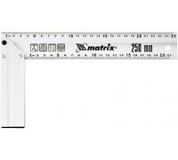 Угольник, 300 мм, алюминиевый, литой MATRIX 32472