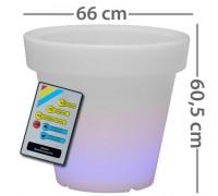 Горшок с диодной подсветкой, d 66cm 303135